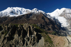 himalaya som trekking Fotografering för Bildbyråer