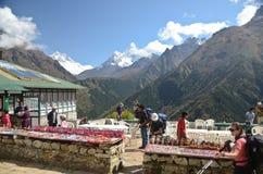 Himalaya souvenir stands Royalty Free Stock Image