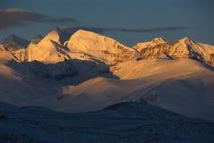 Himalaya sunrise Stock Image