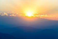 Himalaya at sunrise Royalty Free Stock Photo