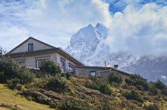 Himalaya tea house Stock Photos