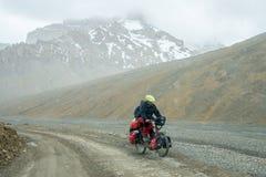 Himalaya vägtur från Manali till Leh i 2015 Arkivfoton