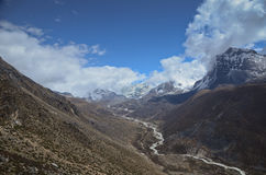 Himalaya valley Stock Images