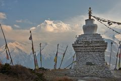 Himalayagebergte Royalty-vrije Stock Afbeelding