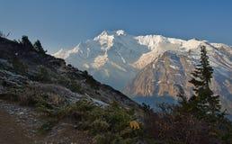 Himalayagebergte Stock Foto