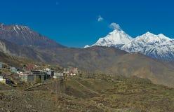 Himalayagebergte Stock Afbeelding