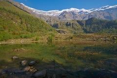 Himalayagebergte Royalty-vrije Stock Fotografie