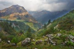 Himalayagebergte Royalty-vrije Stock Foto's