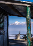 Himalayagebergte, India royalty-vrije stock foto