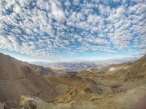 Himalayagebergte met blauwe hemel Royalty-vrije Stock Foto