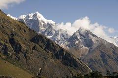 Himalayagebergte - Nepal stock fotografie