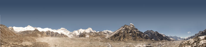 Himalayagebergte - Nepal Royalty-vrije Stock Fotografie