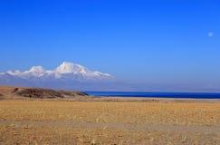 Himalayagebergte in Tibet Stock Foto