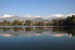 himalayan αντανάκλαση ομορφιάς Στοκ φωτογραφίες με δικαίωμα ελεύθερης χρήσης