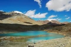 himalayan λίμνες Στοκ εικόνα με δικαίωμα ελεύθερης χρήσης