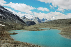 himalayan λίμνες Στοκ Εικόνες