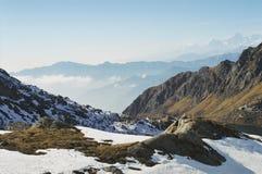 Himalayan горы Стоковое Изображение