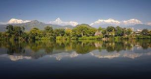 Himalayan ряд Стоковая Фотография