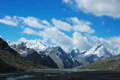 himalayan сценарное Стоковое фото RF