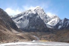 Himalayan base camp Stock Image