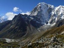 Himalaya Mountains Landscape Nepal. Himalaya Mountains Landscape, Everest Region, Nepal stock photography