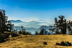 Himalayan bergskedjor Royaltyfri Bild