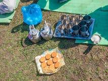 Himalayan breakfast Royalty Free Stock Photos