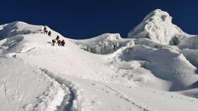 Himalayan climbing Stock Images