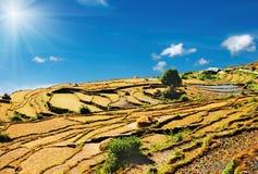 Himalayan countryside stock image
