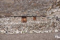 Himalayan Farmhouse Royalty Free Stock Photos