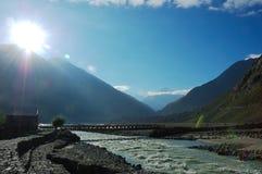 himalayan flod Royaltyfria Bilder