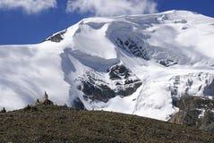 Himalayan glaciär Arkivbild