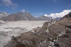 Himalayan Glacier Royalty Free Stock Photography