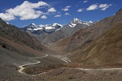 Himalayan Highway Royalty Free Stock Images