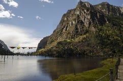 Himalayan lake. High altitude Himalayan mountain lake Royalty Free Stock Photos