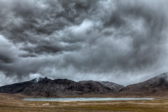 Himalayan lake Kyagar Tso, Ladakh, India Stock Images