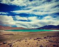 Himalayan lake Kyagar Tso, Ladakh, India Stock Photos
