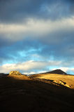 Himalayan landscape. Himalayan mountain at sunrise, Ladakh, India Royalty Free Stock Image