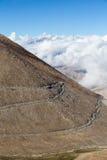 Himalayan landscape along Manali Leh highway. India Stock Photo