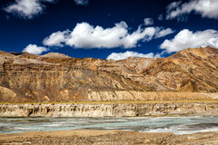 Himalayan landscape along Manali-Leh road Stock Photography