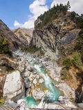 Himalayan Landscape, Everest Region, Nepal Stock Images