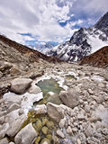 Himalayan Landscape, Everest Region, Nepal Royalty Free Stock Photography