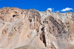 Himalayan landscape in Himalayas along Manali-Leh highway. Himachal Pradesh, India Stock Photo
