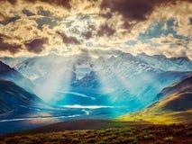 HImalayan landscape with Himalayas mountains Stock Images