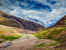 Himalayan landscape in Himalayas Stock Images