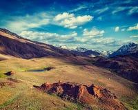 Himalayan landscape in Himalayas Royalty Free Stock Photos