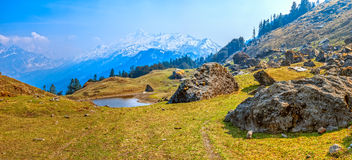 Himalayan landscape Royalty Free Stock Photos