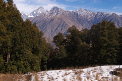 Himalayan landscape scene Royalty Free Stock Images
