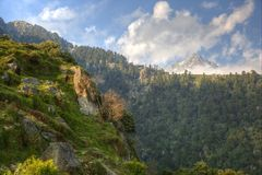 Himalayan landskap Arkivfoton