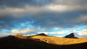 Himalayan mountain. Lanscape at sunrise, Ladakh, India Royalty Free Stock Photo